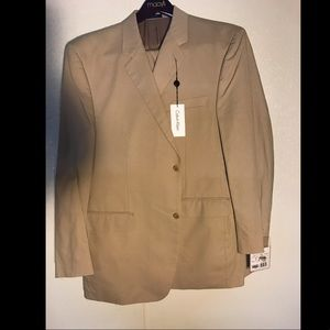 Men's Beige Suit Set
